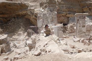 D. Portrait in Tomb