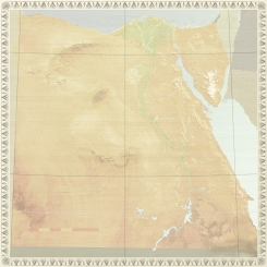 EGYPT CONTINENT MAP NO TEXT