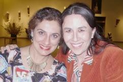 Salima and Dominique
