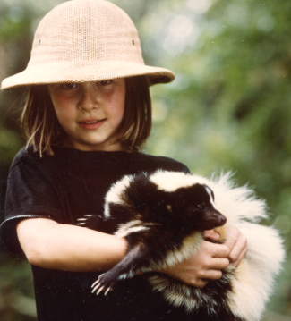 Dominique and the Skunk