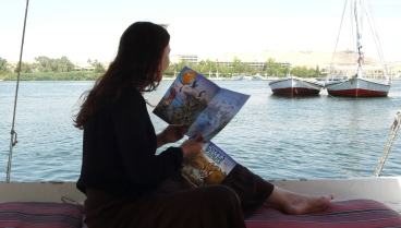 Aswan with Books