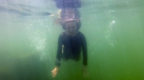 Dominique Underwater 1