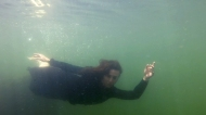 Dominique Underwater 2