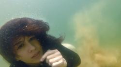 Dominique Underwater 7
