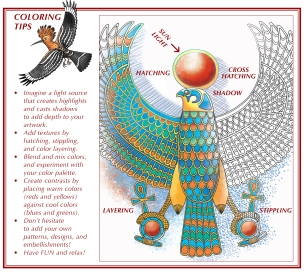 Ancient Egypt An Artists Coloring Book Is MORE Than Just A