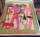Louises Color Book Page